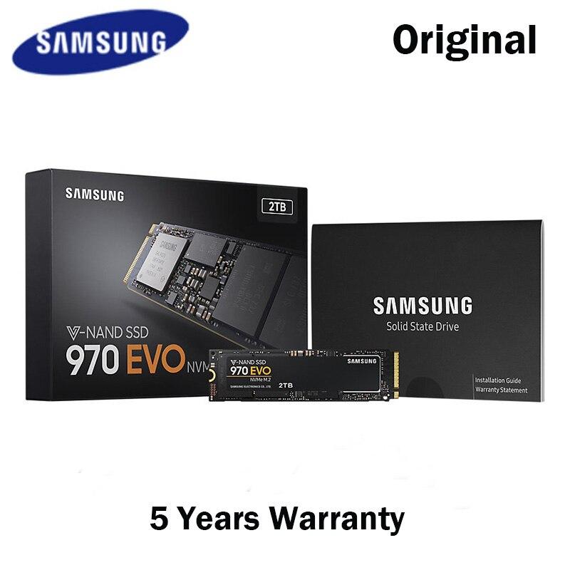 Samsung NVME M 2 SSD M2 250 GB 500 GB 1TB 2T M 2 970 EVO