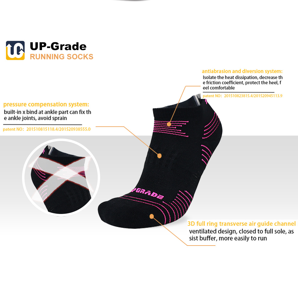 UGUPGRADE EU36-40 Warm Sweat ThickenedSkid Resistant Running Sports Socks For Women Fitness Cycling Socks Outdoor