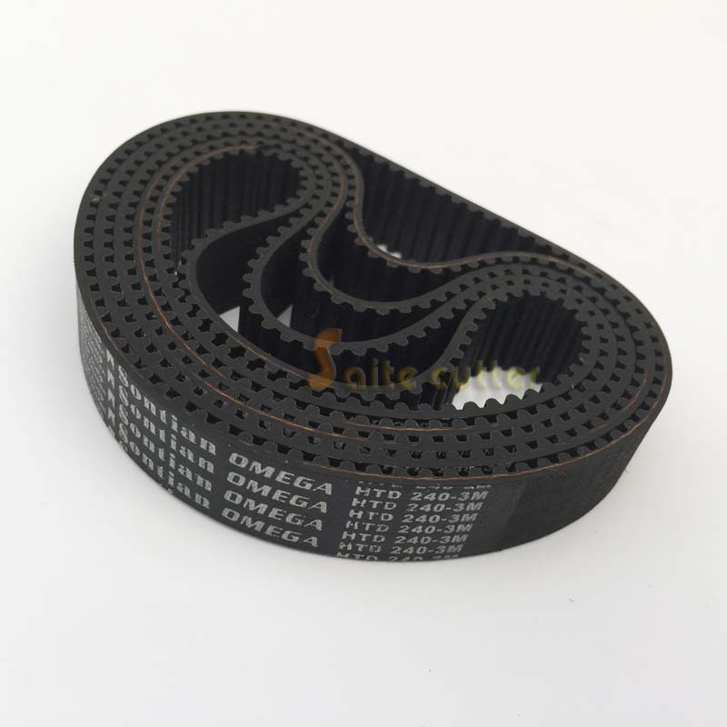 HTD Timing Belt L 240 - 3M 3mm Pitch 15mm Wide 80 Tooth DIY CNC Laser Robotics Engraving Cutting Machine