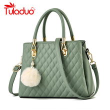 Ladies Hand Bags Famous Brand Bags Logo Handbags Women Fashion High Quality Fur Ball PU Leather Pochette Shoulder Bag Women Bags zmqn luxury handbags women bags designer ladies hand bags female leather famous brand chain bag for women 2018 high quality a910