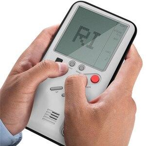 Image 3 - ゲームボーイ携帯電話ケース再生可能なケース内蔵タンク戦争テトリスゲーム電話ケース