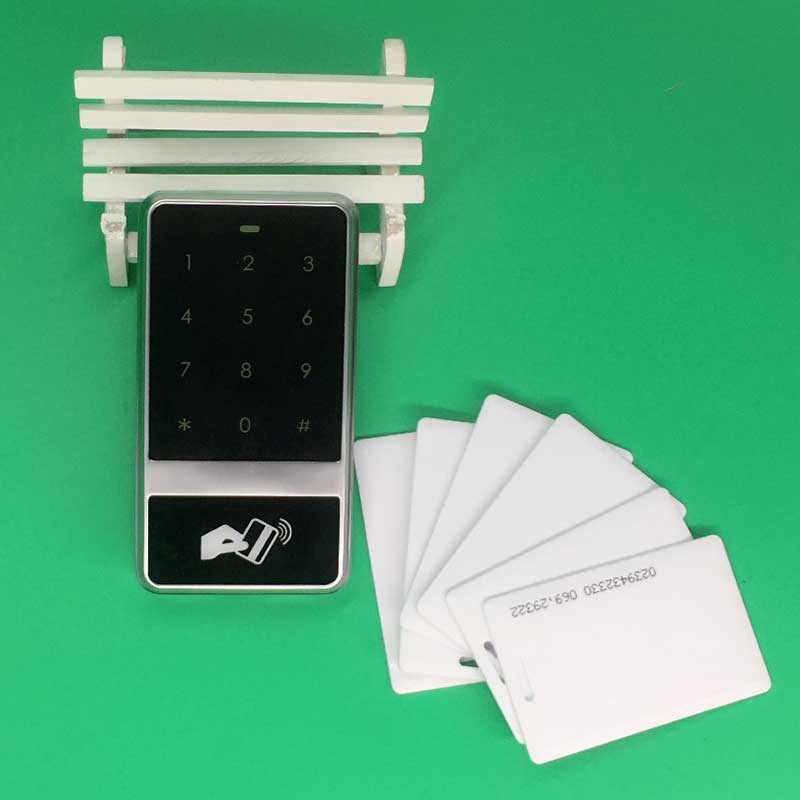125KHZ RFID Touch Keypad Access Controller Backlight keyboard +10 RFID/EM card for Door Access Control System