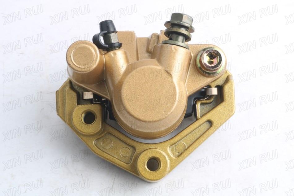 BRAKE CALIPER ASSY for YAMAHA BWS 100 YW100 BWS 50 YW50 3XG-F580T-01 scooter moped front brake caliper with pads for yamaha zuma 50cc yw50 2002 2011 yw 50 new