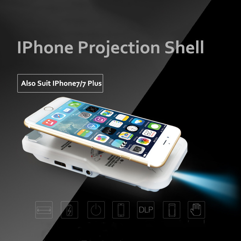 Pico dlp projector top of for Movie projector for iphone 6