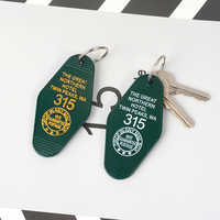 Twin Peaks Key chains The Great Northern Hotel Room # 315 Key Tag Keychain Acrylic Keyring for Women Men Fashion Jewelry