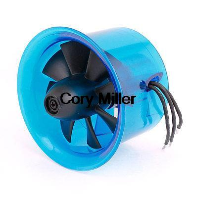 HL5008 2427 5800KV Brushless Motor 50mm Ducted Fan EDF for RC Helicopter