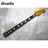 Disado 21 frets חמישה מיתרים גיטרה בס חשמלית מייפל צוואר עם חיף rosewood חלקי גיטרה צבע מבריק צבע צהוב