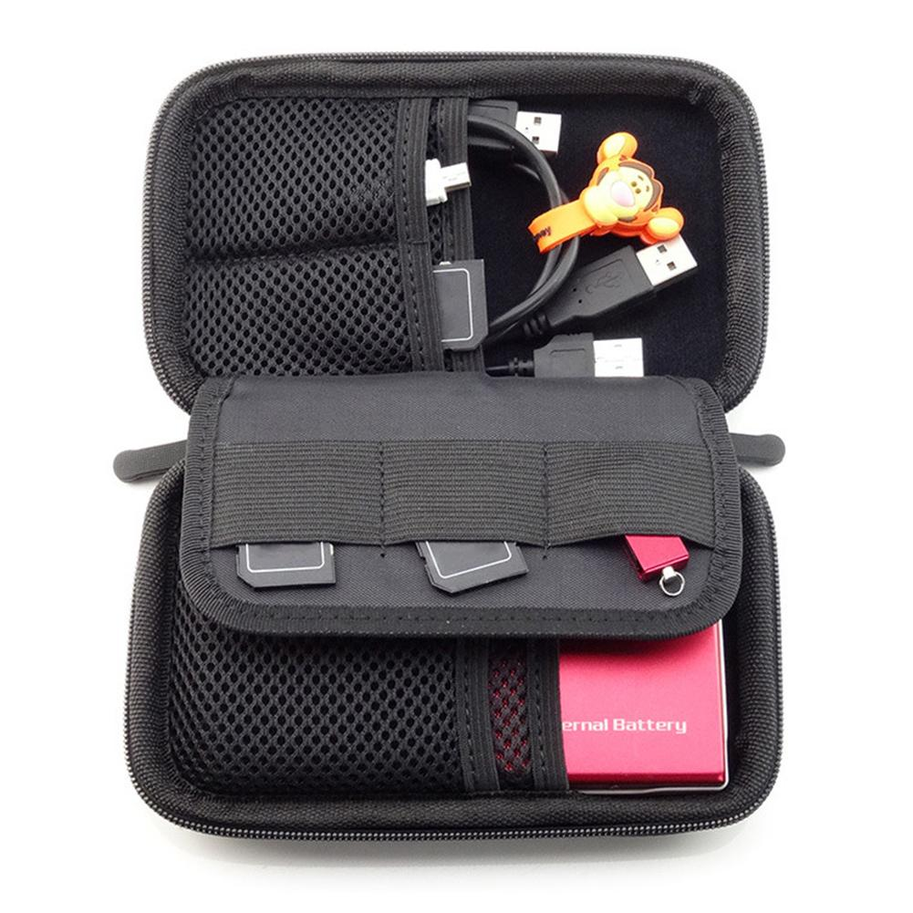 Portable Waterproof Storage Bag For Hard Disk Mobile Phone Earphone Cable Digital Accessories Multi-function Storage Bags