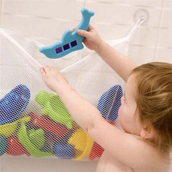 Dziecko dzieci wanna do łazienki zabawkowa piłka torby siatkowe torby do przechowywania netto organizer torby do przechowywania tanie i dobre opinie Toy Bag None 2-4 lat 5-7 lat Urodzenia ~ 24 Miesięcy Sport MezoJaoie