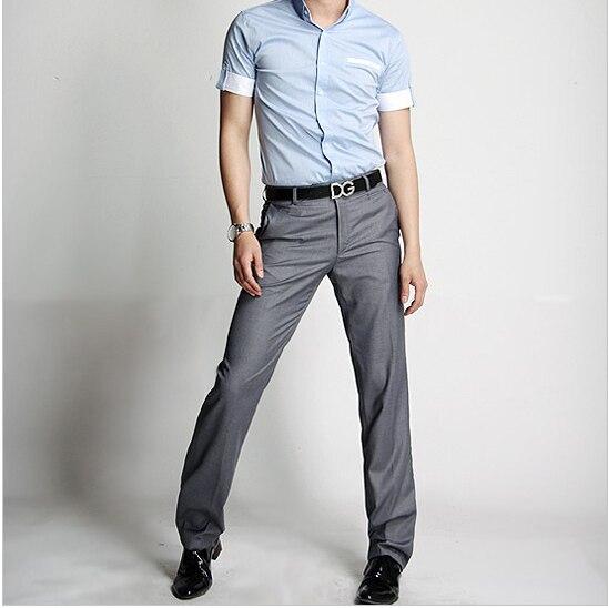 MüHsam Männer Anzughose 2015 Formale Hochzeit Fashion Slim Fit Lässige Markengeschäft Blazer Gerades Kleid Hosen Geben Verschiffen Frei Mutter & Kinder