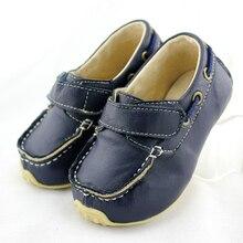 Tipsietoes бренд высокого качества из натуральной кожи детей кроссовки для мальчиков и девочек дети loafer shoes 2017 осень-весна
