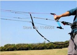 Envío gratis de alta calidad quad line power stack kite control bar 2000lb + 1000lb utilizado para w3 w5 N7 N9 kitesurfing juguetes al aire libre
