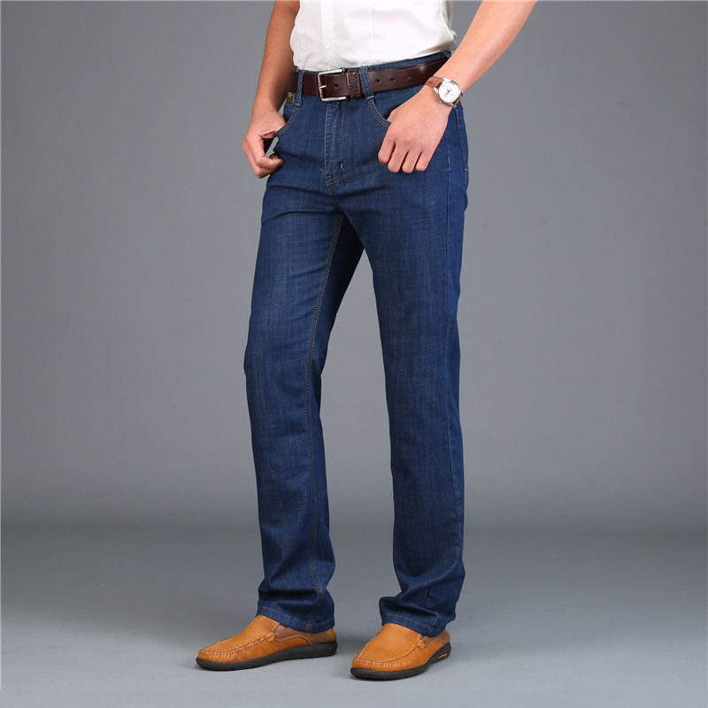 New Fashion Brand AFS JEEP Jeans Men Solid Straight Skinny Jeans Men Designer Denim Overalls Business Jeans Big Size 30-42 807 new afs jeep brand autumn and winter man jeans men pants straight cotton male denim brand jeans more pocket overalls