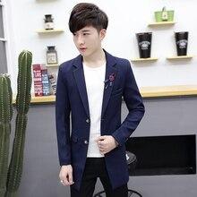 2017 New Men Suits Jackets Mens Fashion Business Casual Popular Wedding Banquet Best Coat Jacket Suit Male Size S-3XL Hot Sale
