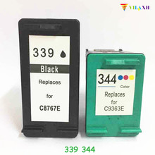 For HP 339 344 Ink Cartridge For HP Deskjet 460 5740 5745 5940 6520 6540 6620 Photosmart 475 2575 2610 2710 8050 8150 8450 8750 black original new full lcd display touch screen digitizer assembly replacement for zte blade x7 d6 v6 z7 free shipping