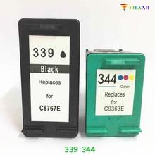 For HP 339 344 Ink Cartridge For HP Deskjet 460 5740 5745 5940 6520 6540 6620 Photosmart 475 2575 2610 2710 8050 8150 8450 8750 gianni conti 2283227 black