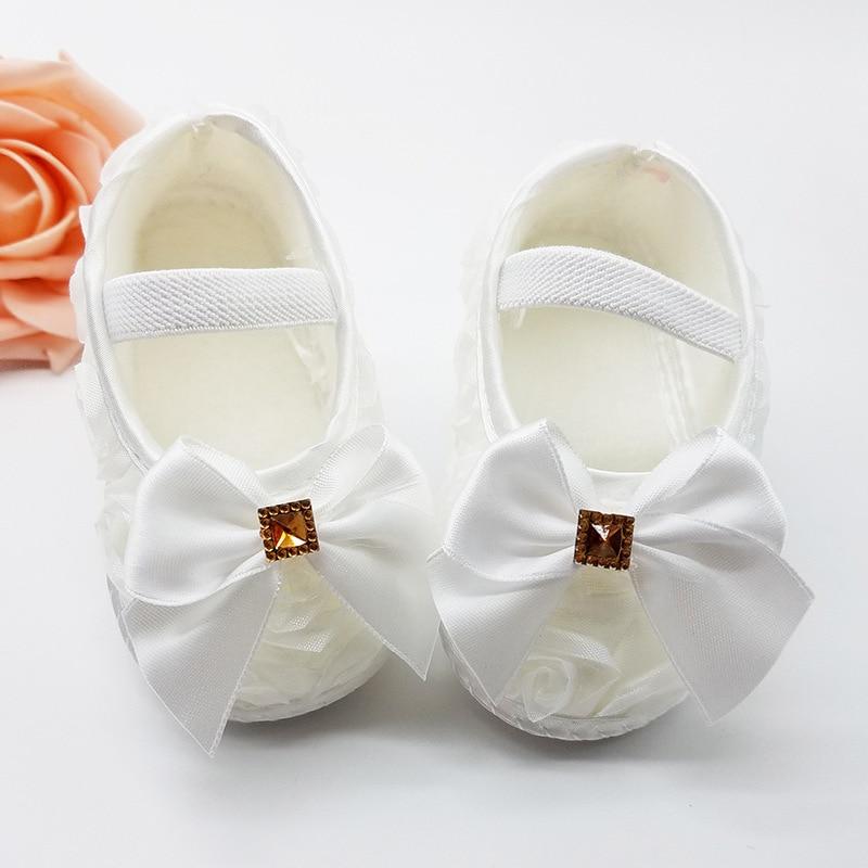 Pavasarį / rudenį Minkštausiai mergaitės kūdikiai 4 spalvos batų mieli batai Krikšto krikšto batai