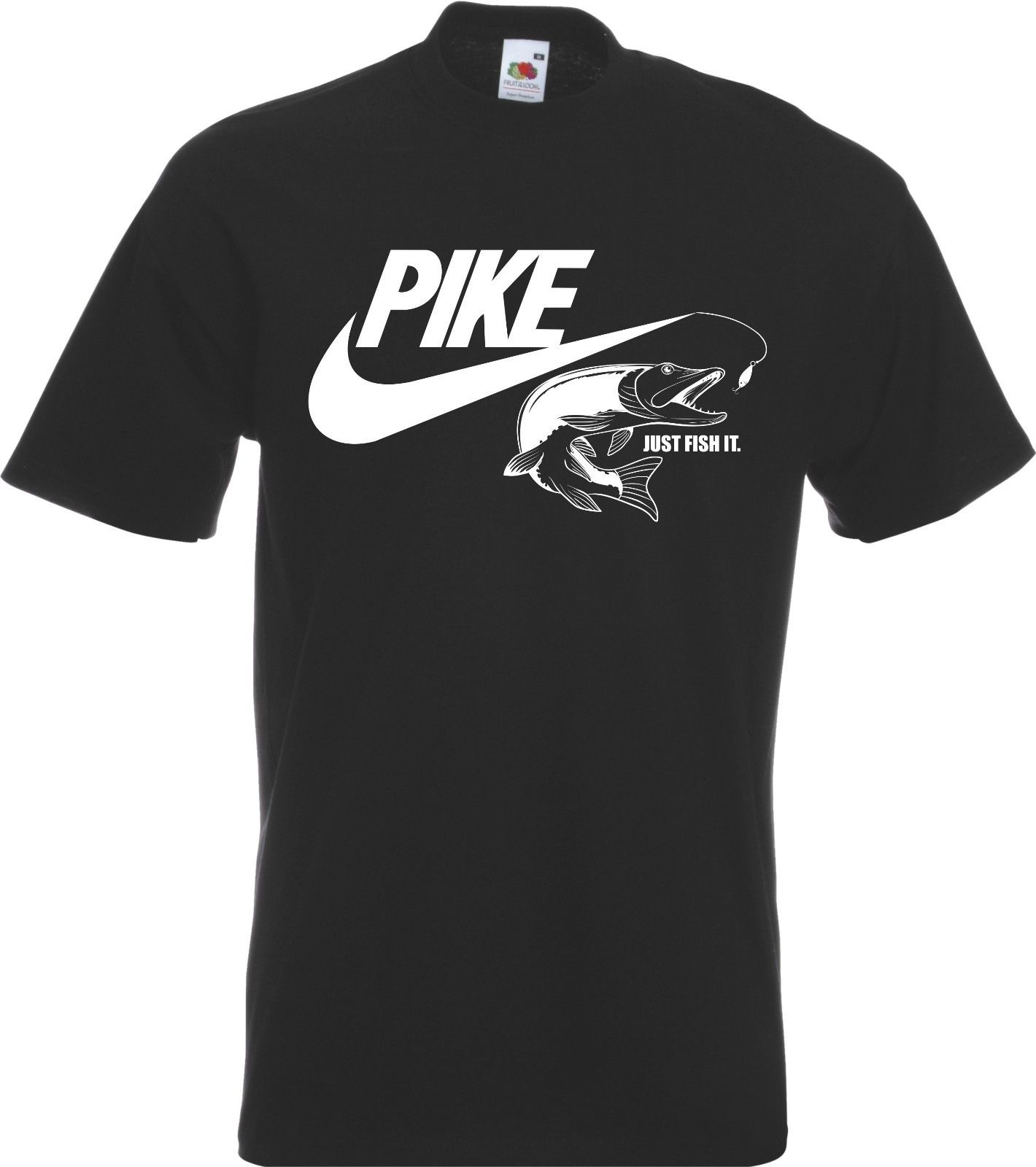 Pike Fish Fisherman Angler   T  -  Shirt   New   T     Shirts   Funny Tops Tee New Unisex Funny High Quality free shippingCool Casual pride