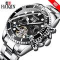 Часы HAIQIN мужские  деловые  водонепроницаемые  стальные