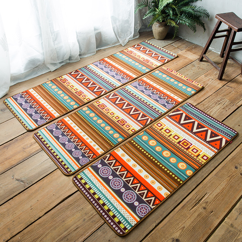 Kitchen Floor Mat Colorful Children Bedside Carpet Soft Thick Kid Room Blanket Yoga Rug And Carpets In From Home Garden On