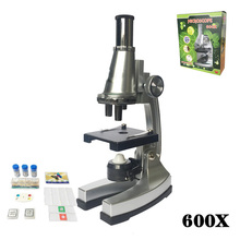 Monocular Head Best Gift 600x Educational Toy  Microscope Best Gifts for Kids