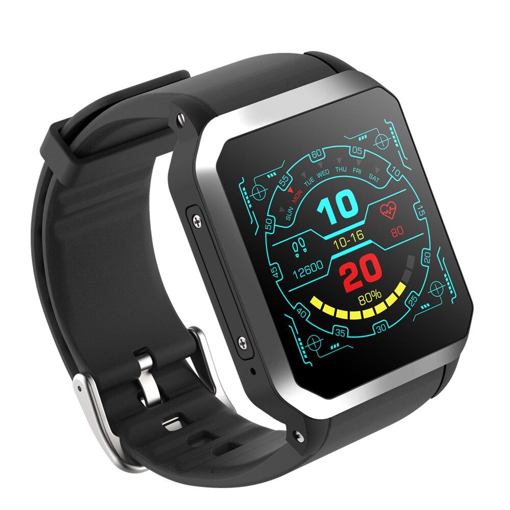 NIYOQUE Intelligent Andorid Montre KW06 3G SIM Carte GPS Positionnement IP68 Montre Étanche Surveillance de la Fréquence Cardiaque Bluetooth Montre Téléphone