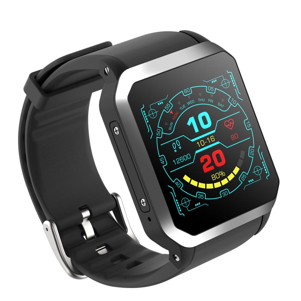 NIYOQUE Orologio Intelligente Andorid KW06 3G SIM Card GPS Posizionamento IP68 Impermeabile Orologio Monitoraggio della Frequenza Cardiaca Bluetooth Watch Phone