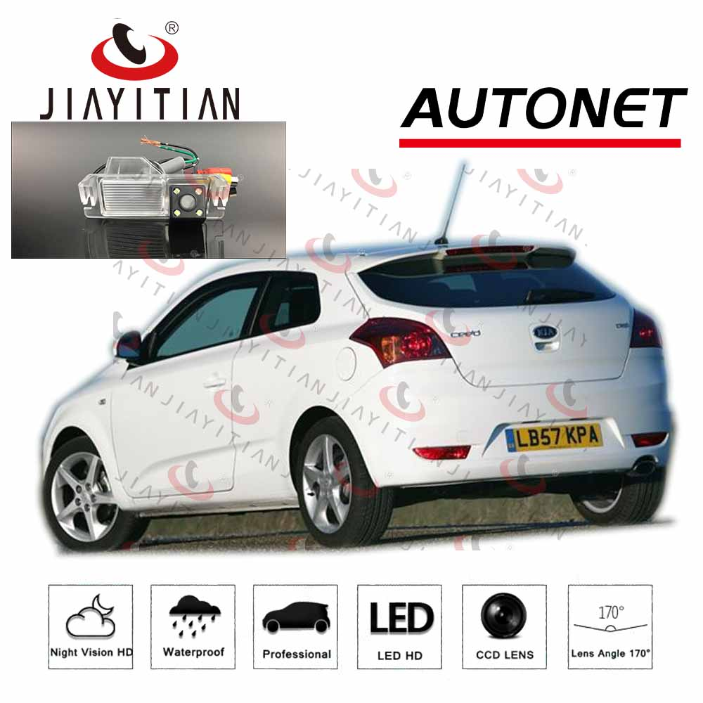 JiaYiTian car Rear camera for kia ceed/pro ceed 3D Coupe 2007 2008 2009 2010 CCD Night Vision Backup Camera license plate camera