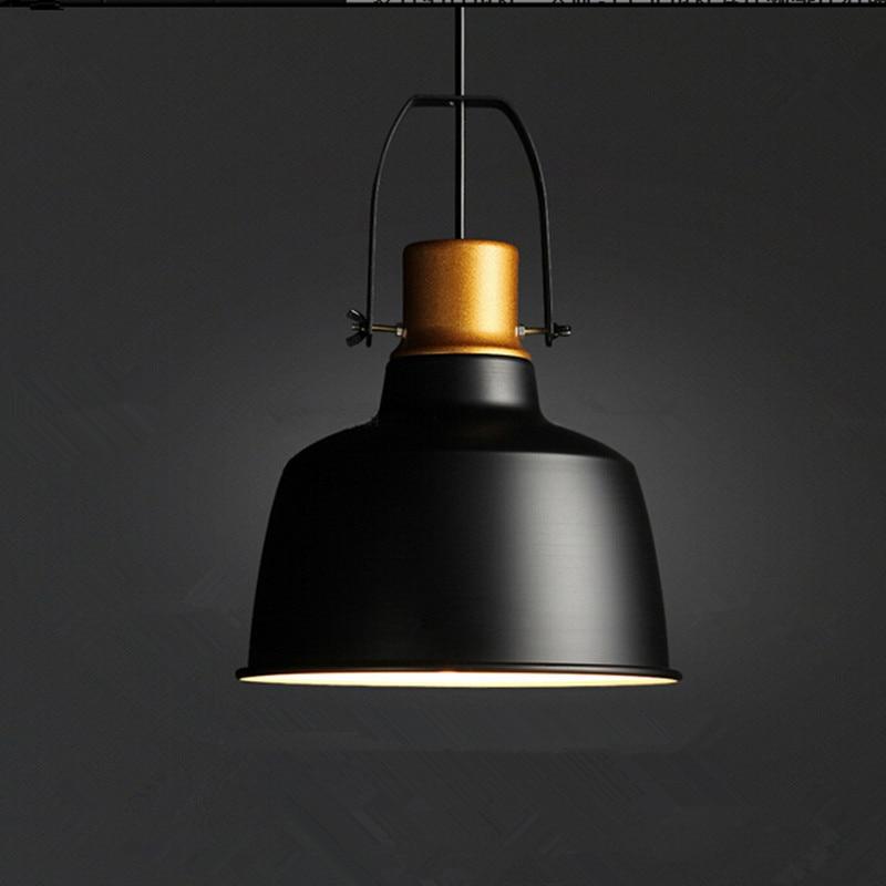 industrial style lamps led vintage pendant lights aluminum gold pot