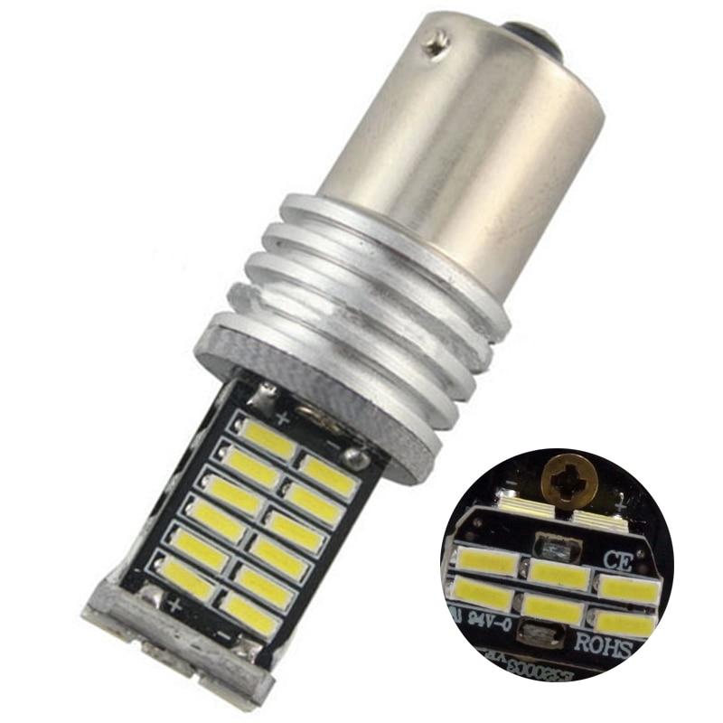 4ks Auto LED Canbus BAU15S 1156 4014 30 SMD LED bezporuchová 12V S25 PY21W Auto světlo Brzda Otočení LED Signál Zadní světla žárovka