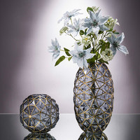 Minimalist Glass Vase Home Decoration Hydroponic Flowers Dry Flower Living Room Decor Geometry Creative Simple Concise Ornaments