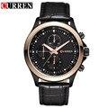 Curren relógios de pulso de negócios de design da marca é atualmente o relógio masculino lazer relógio de pulso de luxo presente 8138