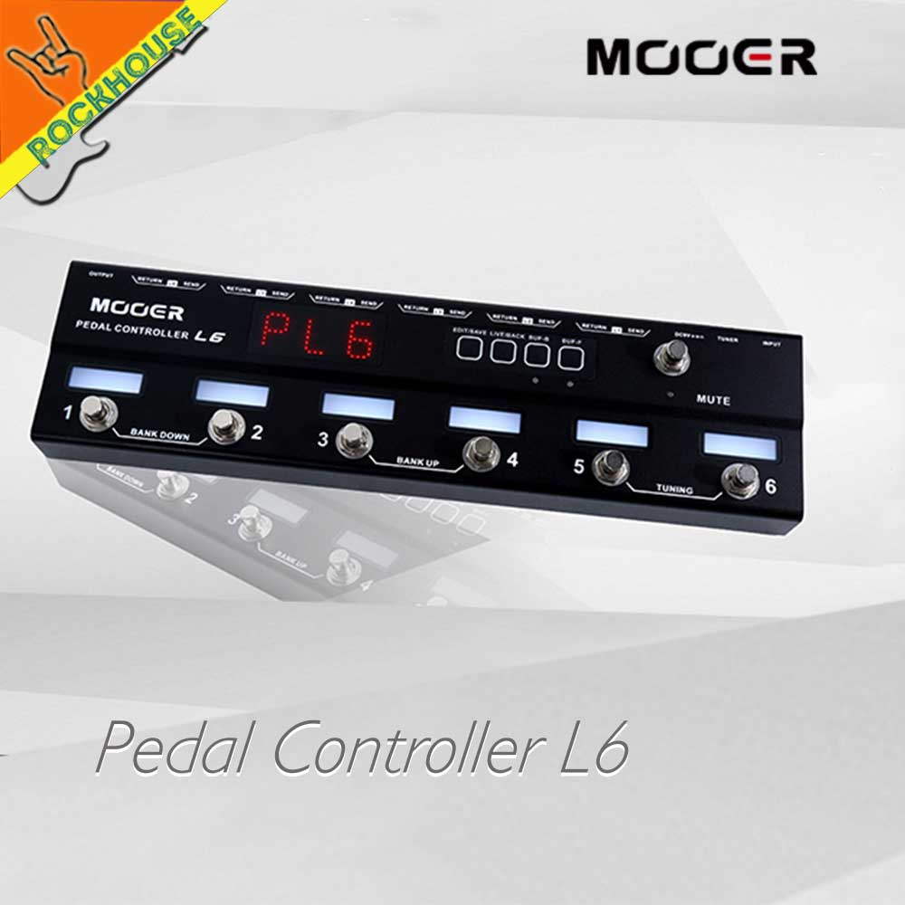 Mooer Guitar Effects Pedal Controller Programmable Grouping System Pedal Loop Switcher Stompbox Control Station Free Shipping хай хэт и контроллер для электронной ударной установки roland fd 9 hi hat controller pedal