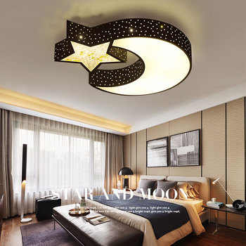 Modern LED creative ceiling lights girl bedroom Ceiling ...