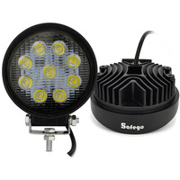 2pcs 4inch 27W Led Worklight Work Working Light Lamp Spot Flood Off Road 27W Led Work