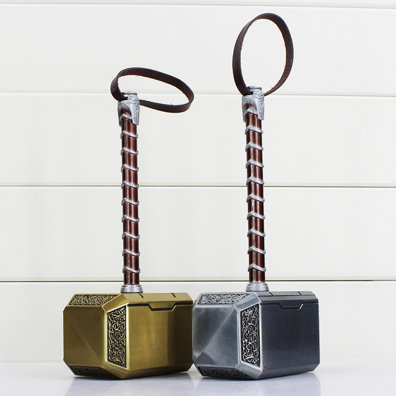 The Avengers The Thor's Hammer Toys Thor Cosplay Hammer Toy Great Gift 20cm Free Shipping high quality the avengers thor cosplay hammer thor s hammer action figure super hero collection toy ems free shipping