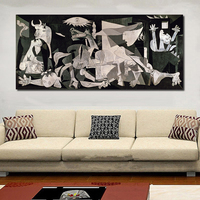 WANG ART Wall Art Paintings Picasso Guernica 1937 Pictures For Living Room Canvas Art Home Decor