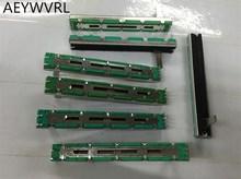 50 sztuk potencjometr A10K A20K A50K oryginalny duplex potencjometr mikser fader 75MM A10KX2 A20K * 2 A50K * 2