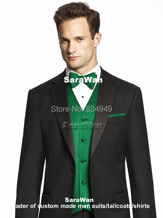 Green Prom Vests