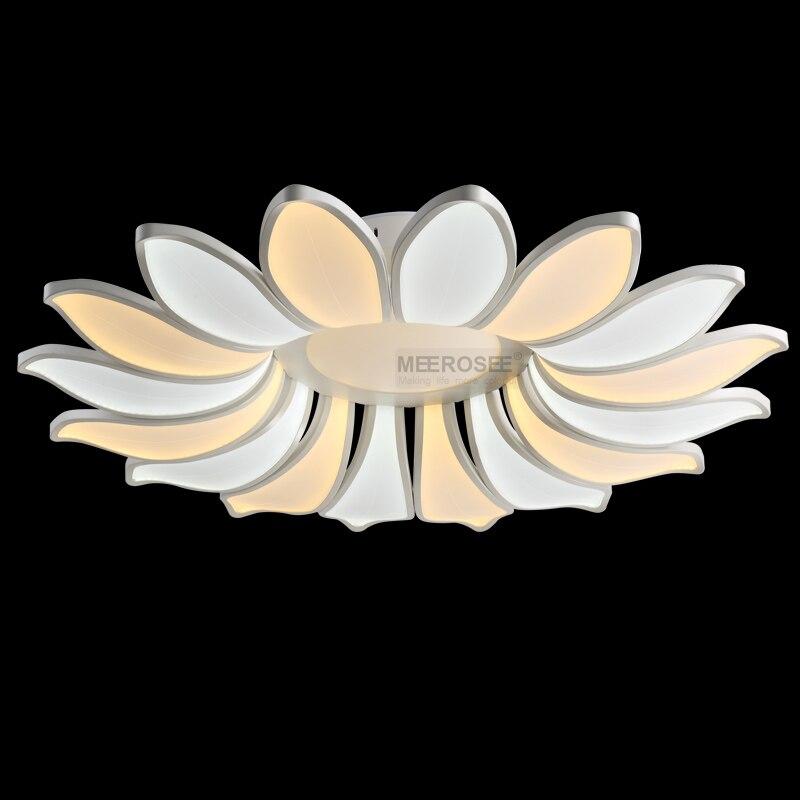 Lámpara de flores 16 de LED grande pétalos acrílico de techo xQdCEorBeW