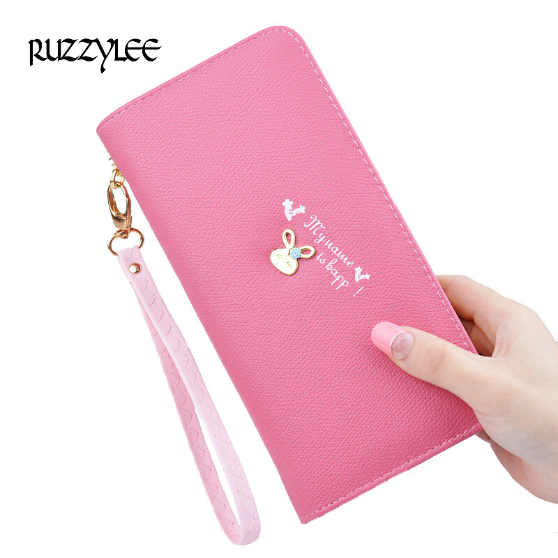 New Wallet Women Luxury Brand Design Leather Purses Woman Purse Long Zipper Female Wallets Card Holder Clutch Feminina Carteira double zipper men clutch bags high quality pu leather wallet man new brand wallets male long wallets purses carteira masculina