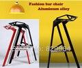 Алюминиевый сплав бар стулья, барные стулья для моды, бар, гостиная furnitrue, бар мебель, металлический стул