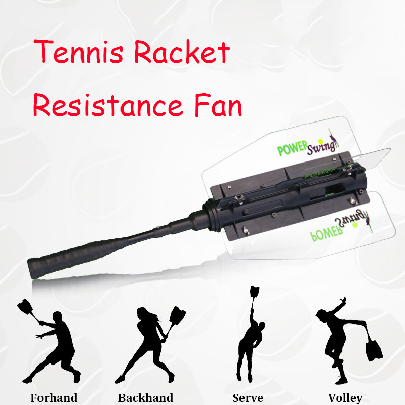 Adults Tennis Racket Resistance Fan Professional Sport Tenis Training Machine Increase Swing Speed Padel Accessories