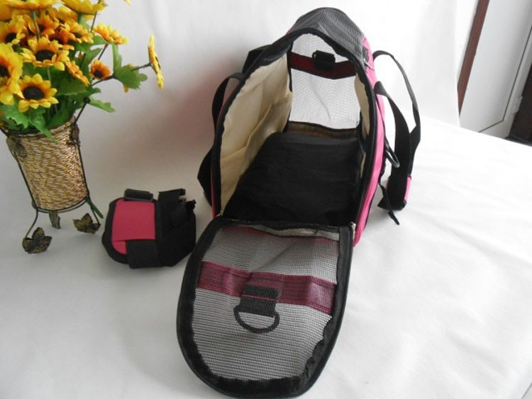 Breathable Mesh Cat Carrier