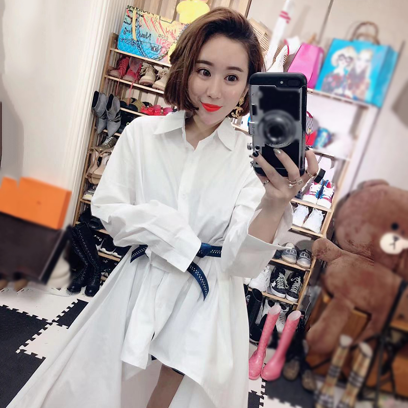 Women's Blouse Asymmetric Sleeve 8