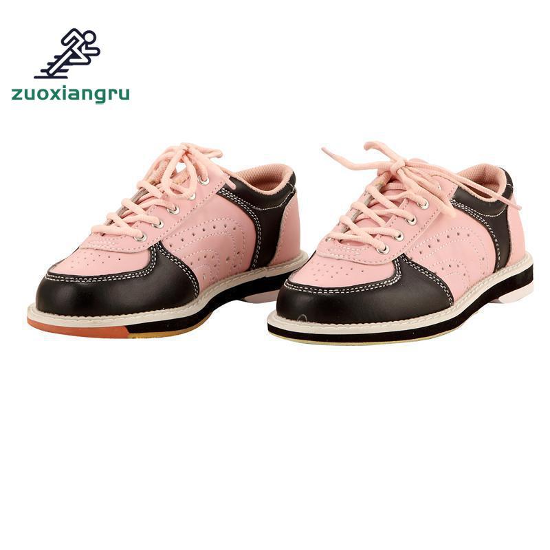 Унисекс Для мужчин Для женщин противоскользящая подошва профессиональные спортивные, для боулинга обувь кроссовки пару моделей дышащая скольжения кроссовки