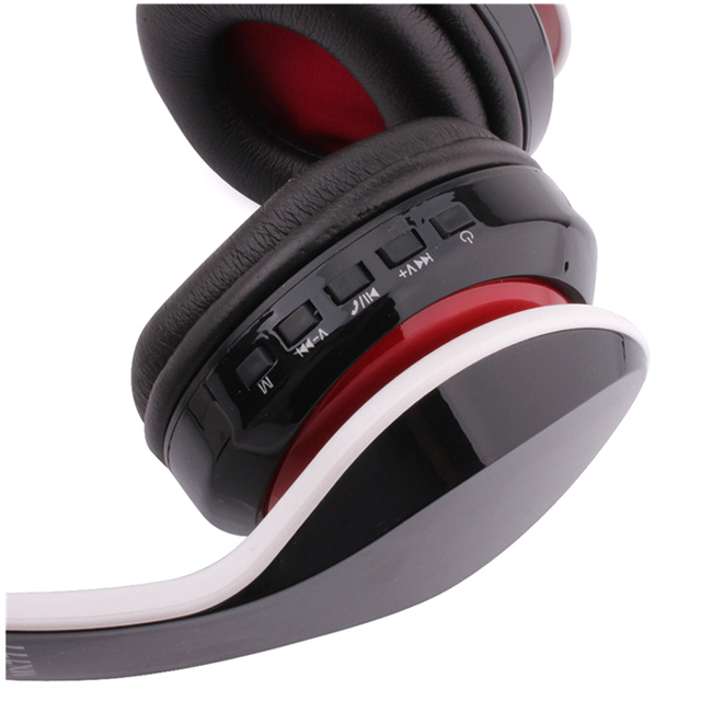 Wireless bluetooth headset with MIC Support