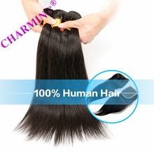 Charming Brazilian Straight Hair 8A 3 Bundles With 1 pc 4*4 Silk Base Closure Human Hair Bundles With Closure Virgin Hair