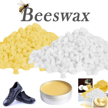 Pellets de Cera de abejas, pastillos amarillos y blancos, velas de grado...
