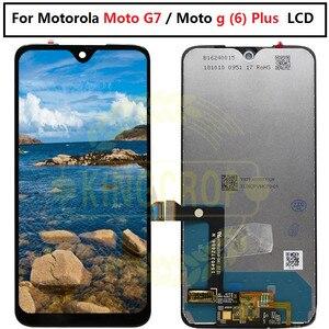 Image 4 - Display LCD originale G7 per Motorola Moto G7 Power Display XT1955 LCD G7 Plus Touch Screen Digitizer G7 Play LCD di ricambio XT1952 LCD